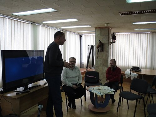 Сергій Басюк розповідає про діяльність представників УГС у Херсоні