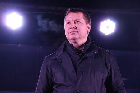 Андрей Гордеев 1 января 2018 года. Фото с сайта облгосадминистрации