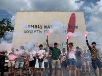 День памяти и гнева в Херсоне. Фото со страницы движения